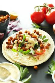 chickpea shawarma sandwich minimalist baker recipes