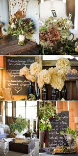 Wedding Reception Vases Rustic Wedding Rustic Wedding Reception Decor 797351 Weddbook