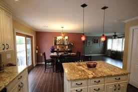 Kitchen Island Extractor Hoods Suspended Drop Down Lighting Kitchens Ceiling With Lights And Flat