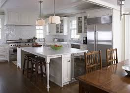 kitchen islands with legs kitchen island mini fridge transitional kitchen freeman