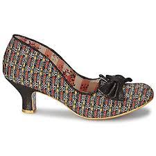 Wedding Shoes Irregular Choice Court Shoes Irregular Choice Dazzle Razzle Black Multi Women Shoes