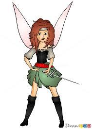 draw zarina tinker bell