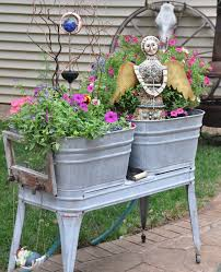 88 best re purposed wash tubs images on pinterest wash tubs