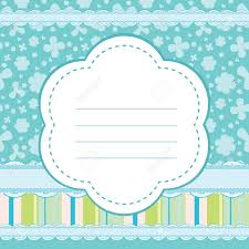 vector background for a baby boy royalty free cliparts vectors