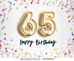 65th birthday stock images royalty free images u0026 vectors
