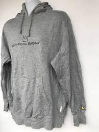 jean sweater jacket jean michel basquiat grailed