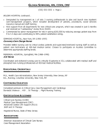 Resume Samples For Job by Resume Sample Nurse Manager How To Write A Personal Essay That