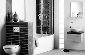 Bathroom Tiles Black And White Ideas by Interior Black And White Bathroom Ideas In Great Bathroom Black