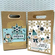 hello gift bags use our designer stencils to dress up gift bags echo park paper
