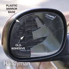door mirror glass replacement replace side view mirror glass family handyman