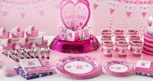baby shower colors party city girl baby shower 10205