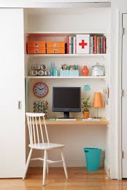 Closet Office Desk Small Space Home Office Solutions The Everygirl
