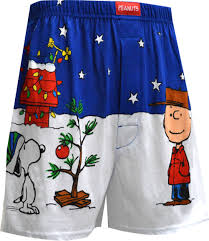 snoopy tree n003873 peanuts brown snoopy cool tree boxers l