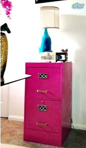 Pink Filing Cabinet Pink File Cabinet The After Picture Of My Spray Painted Filing