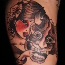 39 best hannya mask tattoos images on pinterest masks demons