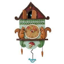 amazon com allen designs cuckoo bird pendulum clock home u0026 kitchen