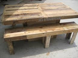 Outdoor Pallet Table Backyard Pallet Dining Table Pallet Wood Pallets And Woods