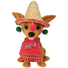 amazon com pancho christmas singing animated chihuahua dog sings