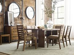 dining room tables denver kincaid furniture dining room cutler live edge dining table 660