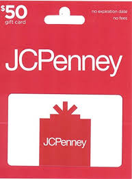 gift card jcpenney gift card 25 gift cards