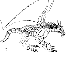 100 printable coloring pages of dragons cartoon bearded dragon