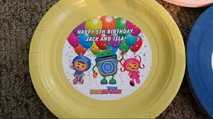 team umizoomi party supplies team umizoomi plates and cups