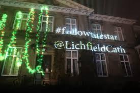 lichfield cathedral illuminations little ladies big world