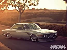 bmw slammed 1971 bmw 2800cs that u002770 u0027s show super street magazine