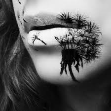Black And White Makeup Ideas For Halloween Beautifully Yet Totally Creepy Halloween Lip Makeup Ideas By