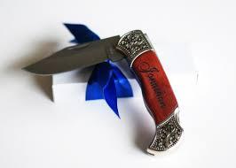 groomsmen pocket knife manly engraved knife custom engraved wood handled pocket