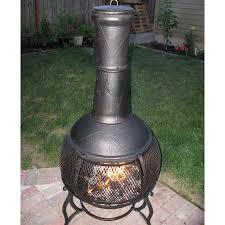 Outdoor Fireplace Chiminea Garden Treasures Chiminea Home Outdoor Decoration