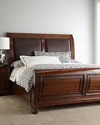 king sleigh bed bedroom furniture horchow com