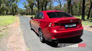 lexus isf performance chip 2014 lexus is 350 f sport 0 100km h and engine sound youtube