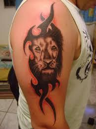 lensclutcolunch lion head tattoos