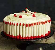 freaky finger red velvet cake recipe bbc good food