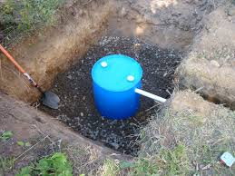 make your own gray water dry well 55 gallon drum read more http