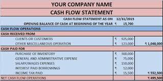 Flow Excel Template Flow Statement Excel Template Exceldatapro