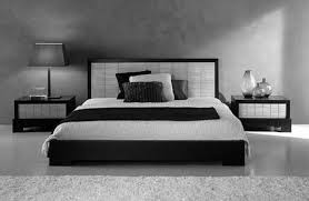 room design ideas for men with awesome master bed and modern wall