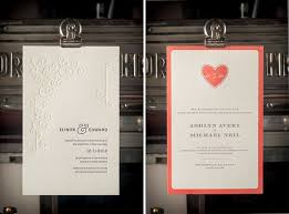 the pressrom co letterpress invitations invitation crush