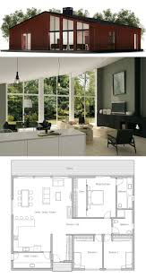 Small Home Floor Plans Small House Plan I Love This But Would Change The Bathrooms The