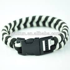 paracord rope bracelet images New design white and black handmade braided survival paracord rope jpg