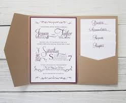 wedding invitation pockets how to make pocket invitations a simple guide everafterguide