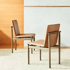 Leather Dining Chair 3 West Elm Framework Leather Dining Chairs In Los Angeles County
