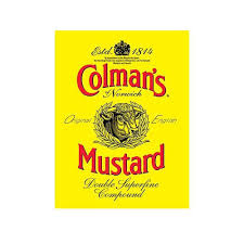 coleman s mustard colman s mustard est 1814 labelmvintage style metal wall sign