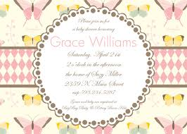 Baby Shower Invitation Cards Templates Inspire Butterfly Baby Shower Invitations Card Butterfly Baby