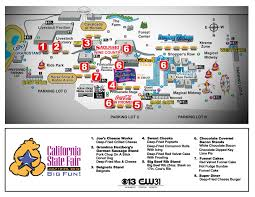 State Fair Map by California State Fair Guide To New Foods Cbs13 Cbs Sacramento