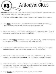 context clues worksheets focusing on 5 types of clues by deb hanson