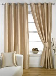 bedroom decorating sweet home interior with cream curtains of