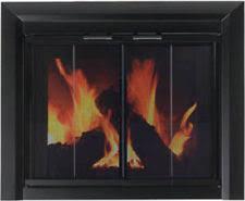 modern glass fireplace doors glass modern fireplace screens u0026 doors ebay