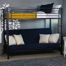 White Metal Futon Bunk Bed White Metal Bunk Bed With Futon Bunk Bed Compact And Bedrooms